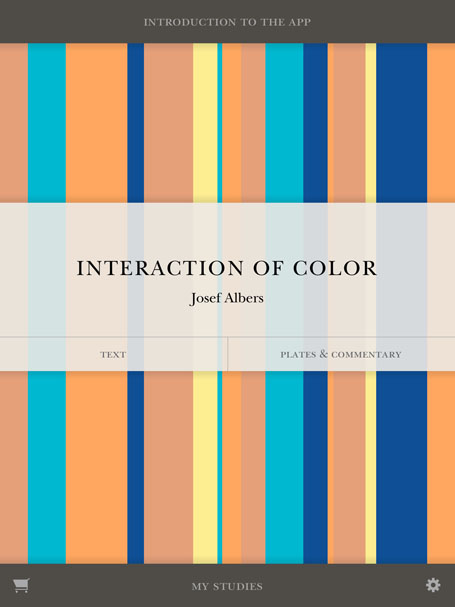 Interaction Of Color Colors App